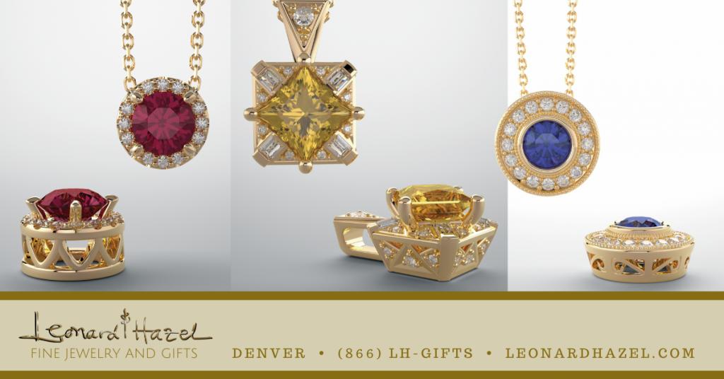 Pendants & Necklaces from Leonard & Hazel™